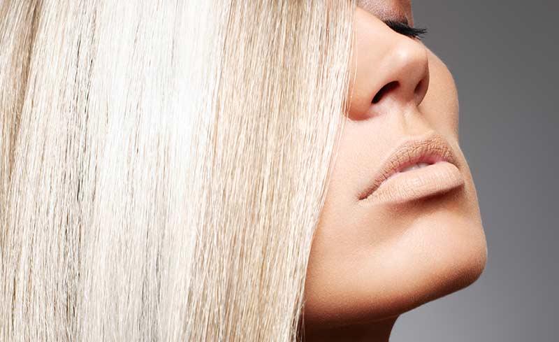 Zosvetlené vlasy